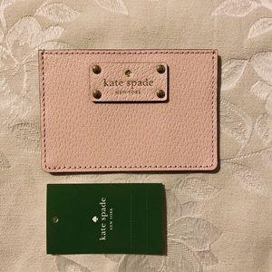 NWT Kate Spade Wellesley Graham card case